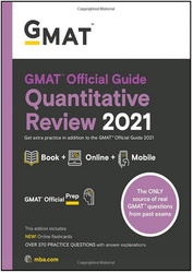 GMAT Quant Official Guide 2021