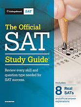 Purchase the most up-to-date Official SAT Study Guide from the Manhattan Elite Prep website.