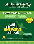 Manhattan Elite Prep GMAT Math Concepts Guide