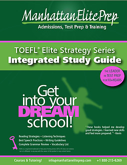 Manhattan Elite Prep eBook TOEFL Integrated Study Guide