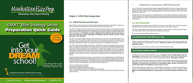 Manhattan Elite Prep Elite GMAT Strategy Series Prep Guide