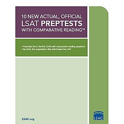 LSAT Preptests guidebook from LSAC