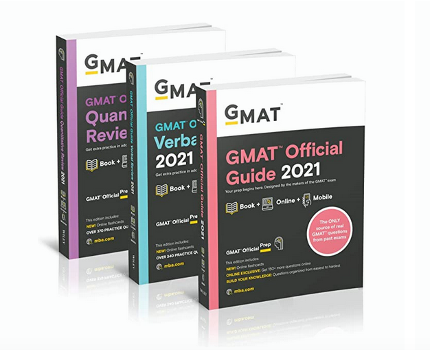 2021 GMAT Official Guide bundle - 3 books